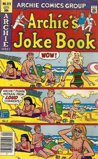 Cover Thumbnail for Archie's Joke Book Magazine (Archie, 1953 series) #272