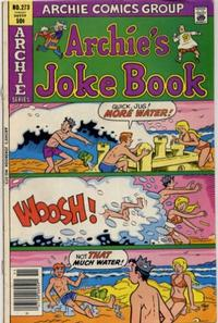 Cover Thumbnail for Archie's Joke Book Magazine (Archie, 1953 series) #273