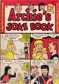 Cover Thumbnail for Archie's Joke Book Magazine (Archie, 1953 series) #[nn]