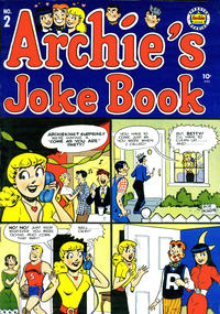 Cover Thumbnail for Archie's Joke Book Magazine (Archie, 1953 series) #2