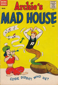 Cover Thumbnail for Archie's Madhouse (Archie, 1959 series) #4