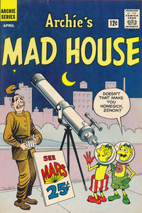 Cover Thumbnail for Archie's Madhouse (Archie, 1959 series) #18