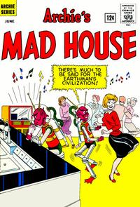 Cover Thumbnail for Archie's Madhouse (Archie, 1959 series) #19