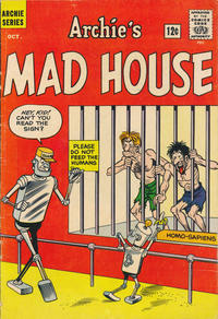 Cover Thumbnail for Archie's Madhouse (Archie, 1959 series) #22