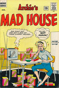 Cover Thumbnail for Archie's Madhouse (Archie, 1959 series) #27