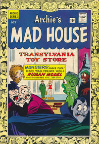 Cover Thumbnail for Archie's Madhouse (Archie, 1959 series) #36