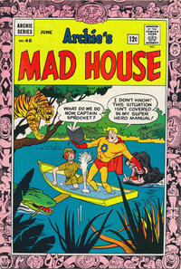 Cover Thumbnail for Archie's Madhouse (Archie, 1959 series) #40