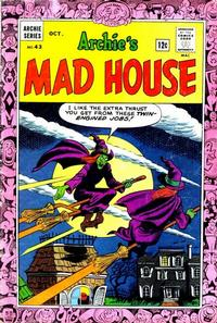Cover for Archie's Madhouse (Archie, 1959 series) #43