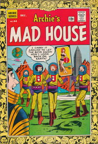 Cover for Archie's Madhouse (Archie, 1959 series) #44