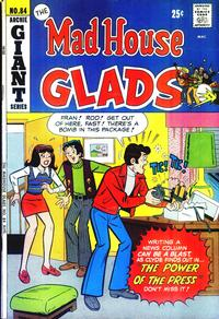 Cover Thumbnail for The Mad House Glads (Archie, 1970 series) #84