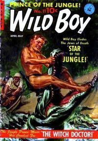 Cover Thumbnail for Wild Boy (Ziff-Davis, 1950 series) #11 [2]