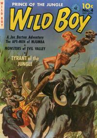 Cover Thumbnail for Wild Boy (Ziff-Davis, 1950 series) #4