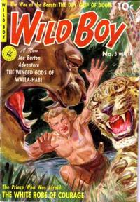Cover Thumbnail for Wild Boy (Ziff-Davis, 1950 series) #5