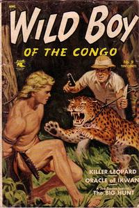 Cover Thumbnail for Wild Boy of the Congo (St. John, 1953 series) #9