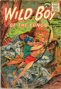 Cover Thumbnail for Wild Boy of the Congo (St. John, 1953 series) #14