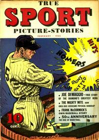 Cover Thumbnail for True Sport Picture Stories (Street and Smith, 1942 series) #v1#5