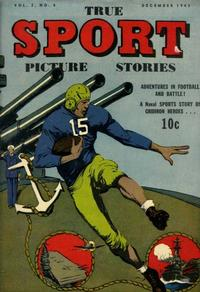 Cover Thumbnail for True Sport Picture Stories (Street and Smith, 1942 series) #v2#4