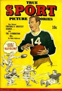 Cover Thumbnail for True Sport Picture Stories (Street and Smith, 1942 series) #v2#5