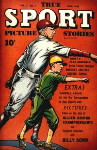 Cover Thumbnail for True Sport Picture Stories (Street and Smith, 1942 series) #v3#1