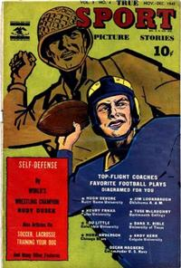 Cover Thumbnail for True Sport Picture Stories (Street and Smith, 1942 series) #v3#4
