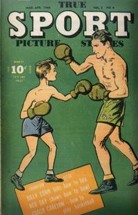 Cover Thumbnail for True Sport Picture Stories (Street and Smith, 1942 series) #v3#6