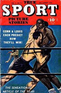Cover Thumbnail for True Sport Picture Stories (Street and Smith, 1942 series) #v3#8