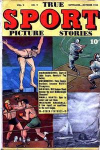 Cover Thumbnail for True Sport Picture Stories (Street and Smith, 1942 series) #v3#9