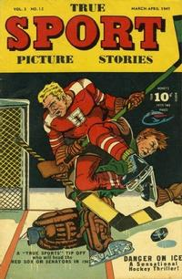 Cover Thumbnail for True Sport Picture Stories (Street and Smith, 1942 series) #v3#12