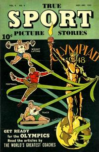 Cover Thumbnail for True Sport Picture Stories (Street and Smith, 1942 series) #v4#4
