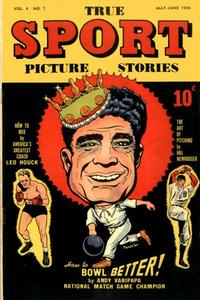 Cover Thumbnail for True Sport Picture Stories (Street and Smith, 1942 series) #v4#7