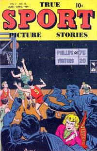 Cover Thumbnail for True Sport Picture Stories (Street and Smith, 1942 series) #v4#12