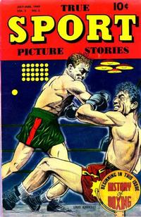 Cover Thumbnail for True Sport Picture Stories (Street and Smith, 1942 series) #v5#2