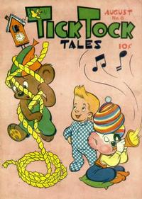 Cover Thumbnail for Tick Tock Tales (Magazine Enterprises, 1946 series) #8