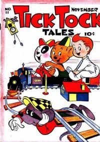 Cover for Tick Tock Tales (Magazine Enterprises, 1946 series) #11