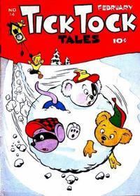Cover Thumbnail for Tick Tock Tales (Magazine Enterprises, 1946 series) #14