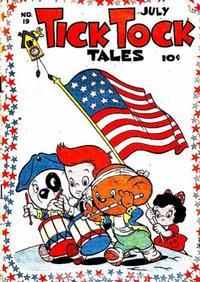 Cover Thumbnail for Tick Tock Tales (Magazine Enterprises, 1946 series) #19