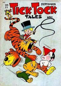 Cover Thumbnail for Tick Tock Tales (Magazine Enterprises, 1946 series) #21