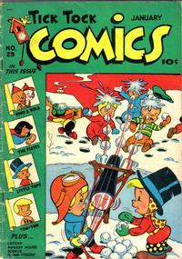 Cover Thumbnail for Tick Tock Tales (Magazine Enterprises, 1946 series) #25