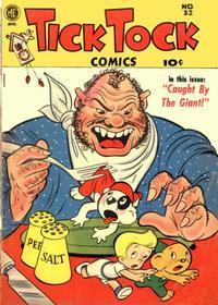 Cover Thumbnail for Tick Tock Tales (Magazine Enterprises, 1946 series) #32