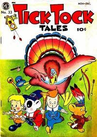 Cover Thumbnail for Tick Tock Tales (Magazine Enterprises, 1946 series) #33