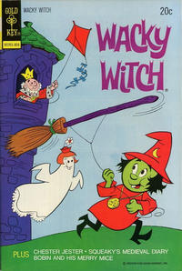 Cover Thumbnail for Wacky Witch (Western, 1971 series) #14 [Gold Key Variant]