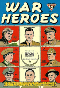 Cover Thumbnail for War Heroes (Dell, 1942 series) #3