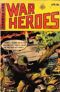 Cover Thumbnail for War Heroes (Ace Magazines, 1952 series) #8