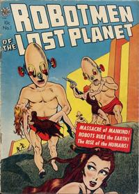 Cover Thumbnail for Robotmen of the Lost Planet (Avon, 1952 series) #1
