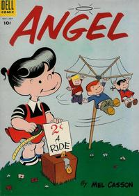 Cover Thumbnail for Angel (Dell, 1954 series) #2