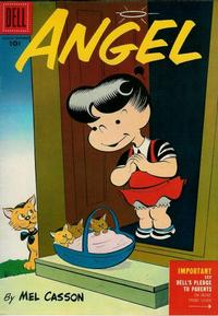 Cover Thumbnail for Angel (Dell, 1954 series) #3