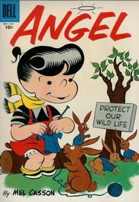 Cover Thumbnail for Angel (Dell, 1954 series) #4