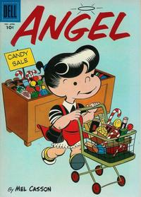 Cover Thumbnail for Angel (Dell, 1954 series) #5