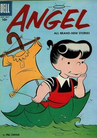 Cover Thumbnail for Angel (Dell, 1954 series) #10
