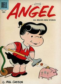 Cover Thumbnail for Angel (Dell, 1954 series) #12
